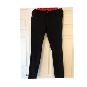 Black Stretchy Skinny Jeans